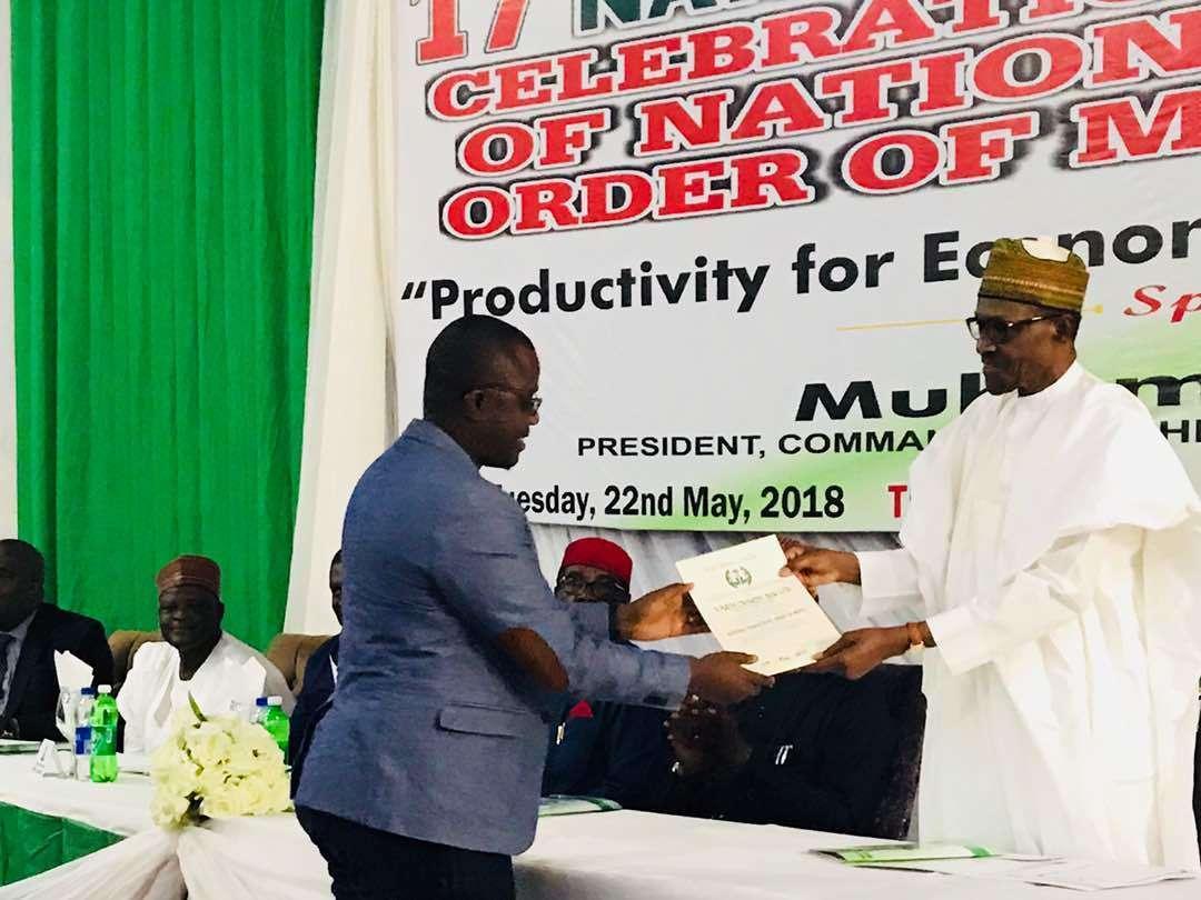 Onyeka NPOM Award