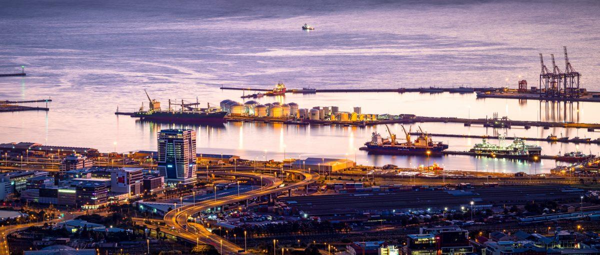 Port of S. Africa. Photo by Jean van der Meullen