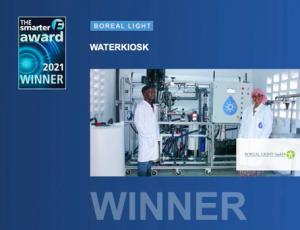 Screenshot for the Smarter E awards